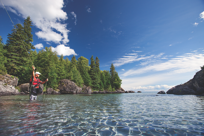 Fly Fishing in the Upper Peninsula