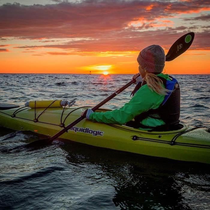 Sunrise Kayak Tour with Great Turtle Kayak Tours on Mackinac Island