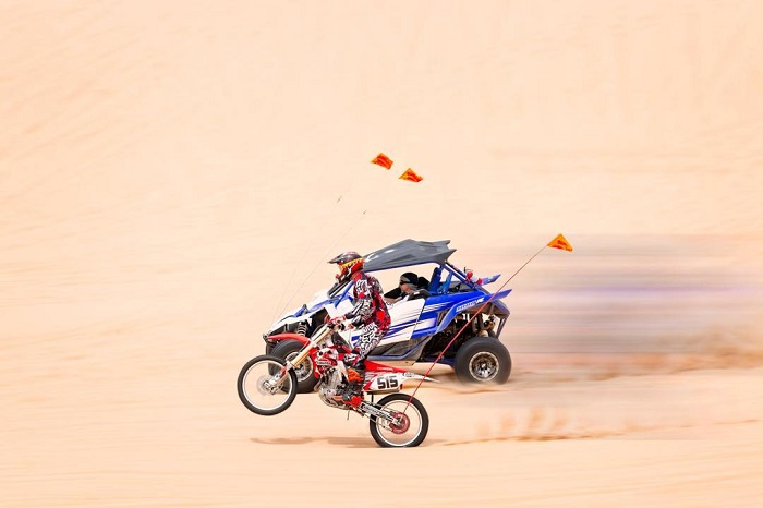 Motocross at the Silver Lake Sand Dunes