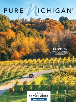 2020 Pure Michigan Fall-Winter Travel Guide Cover