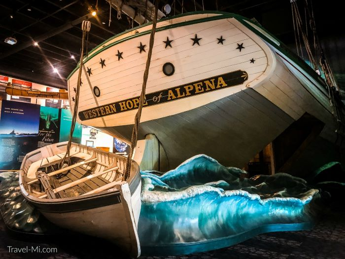 The Western Hope of Alpena at Great Lakes Heritage Center